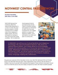 2020 2cnd Quarter Newsletter NWCFASD