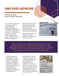 NWCFASD 1st Quarter Newsletter 2020